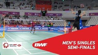 【Video】Jonatan CHRISTIE VS Tommy SUGIARTO, VICTOR Korea Open 2018 semifinal