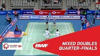 【Video】Dechapol PUAVARANUKROH・Sapsiree TAERATTANACHAI VS CHANG Tak Ching・NG Wing Yung, VICTOR Korea Open 2018 quarter finals