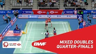 【Video】SEO Seung Jae・CHAE YuJung VS Yuta WATANABE・Arisa HIGASHINO, VICTOR Korea Open 2018 quarter finals