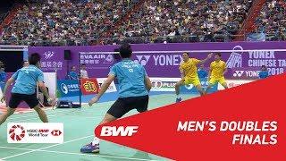 【Video】CHEN Hung Ling・WANG Chi-Lin VS LIAO Min Chun・SU Ching Heng, Chinese Taipei Open 2018 finals