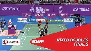【Video】Alfian Eko PRASETYA・Marsheilla Gischa ISLAMI VS YANG Po-Hsuan・WU Ti Jung, Chinese Taipei Open 2018 finals