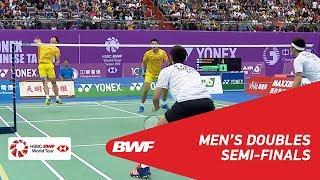 【Video】CHEN Hung Ling・WANG Chi-Lin VS Bodin ISARA・Maneepong JONGJIT, Chinese Taipei Open 2018 semifinal