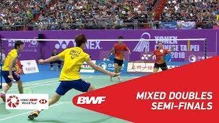 【Video】YANG Po-Hsuan・WU Ti Jung VS CHEN Tang Jie・Yen Wei PECK, Chinese Taipei Open 2018 semifinal