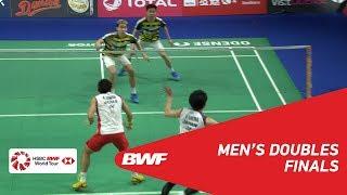 【Video】Marcus Fernaldi GIDEON・Kevin Sanjaya SUKAMULJO VS Takeshi KAMURA・Keigo SONODA, DANISA Denmark Open 2018 finals