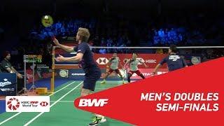 【Video】Takeshi KAMURA・Keigo SONODA VS Marcus ELLIS・Chris LANGRIDGE, DANISA Denmark Open 2018 semifinal