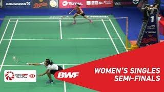 【Video】Gregoria Mariska TUNJUNG VS Saina NEHWAL, DANISA Denmark Open 2018 semifinal