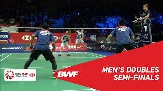 【Video】Marcus Fernaldi GIDEON・Kevin Sanjaya SUKAMULJO VS Mohammad AHSAN・Hendra SETIAWAN, DANISA Denmark Open 2018 semifinal