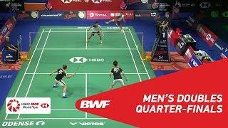 【Video】Marcus Fernaldi GIDEON・Kevin Sanjaya SUKAMULJO VS Takuro HOKI・Yugo KOBAYASHI, DANISA Denmark Open 2018 quarter finals