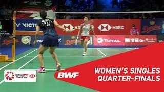 【Video】Nozomi OKUHARA VS Saina NEHWAL, DANISA Denmark Open 2018 quarter finals