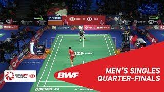 【Video】CHOU Tien Chen VS SON Wan Ho, DANISA Denmark Open 2018 quarter finals