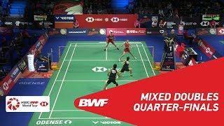 【Video】Tontowi AHMAD・Liliyana NATSIR VS Mathias CHRISTIANSEN・Christinna PEDERSEN, DANISA Denmark Open 2018 quarter finals
