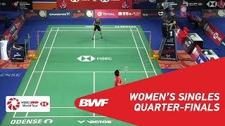 【Video】TAI Tzu Ying VS CHEN Yufei, DANISA Denmark Open 2018 quarter finals