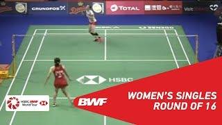【Video】Line Højmark KJAERSFELDT VS Beiwen ZHANG, DANISA Denmark Open 2018 best 16