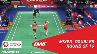 【Video】Mathias CHRISTIANSEN・Christinna PEDERSEN VS Marvin Emil SEIDEL・Linda EFLER, DANISA Denmark Open 2018 best 16