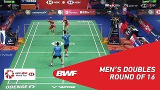 【Video】LIAO Min Chun・SU Ching Heng VS Kim ASTRUP・Anders Skaarup RASMUSSEN, DANISA Denmark Open 2018 best 16