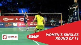 【Video】TAI Tzu Ying VS Busanan ONGBAMRUNGPHAN, DANISA Denmark Open 2018 best 16