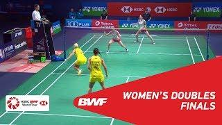 【Video】Mayu MATSUMOTO・Wakana NAGAHARA VS Gabriela STOEVA・Stefani STOEVA, YONEX French Open 2018 finals