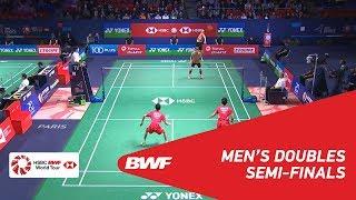 【Video】HAN Chengkai・ZHOU Haodong VS LEE Jhe-Huei・LEE Yang, YONEX French Open 2018 semifinal