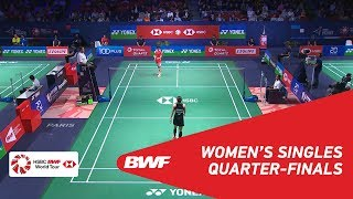 【Video】CHEN Yufei VS Ratchanok INTANON, YONEX French Open 2018 quarter finals