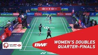 【Video】Greysia POLII・Apriyani RAHAYU VS Maiken FRUERGAARD・Sara THYGESEN, YONEX French Open 2018 quarter finals