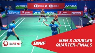 【Video】LEE Jhe-Huei・LEE Yang VS Vladimir IVANOV・Ivan SOZONOV, YONEX French Open 2018 quarter finals