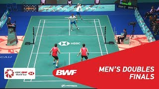 【Video】KIM Gi Jung・LEE Yong Dae VS KO Sung Hyun・SHIN Baek Cheol, Macau Open 2018 finals