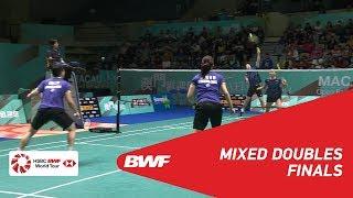 【Video】TANG Chun Man・TSE Ying Suet VS LEE Chun Hei Reginald・CHAU Hoi Wah, Macau Open 2018 finals
