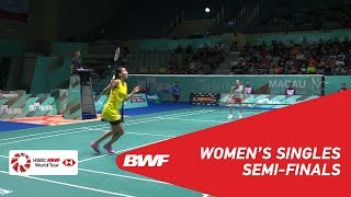 【Video】Michelle LI VS Ayumi MINE, Macau Open 2018 semifinal