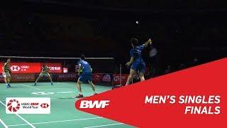 【Video】Marcus Fernaldi GIDEON・Kevin Sanjaya SUKAMULJO VS HE Jiting・TAN Qiang, Fuzhou China Open 2018 finals