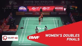 【Video】LEE So Hee・SHIN Seung Chan VS Mayu MATSUMOTO・Wakana NAGAHARA, Fuzhou China Open 2018 finals