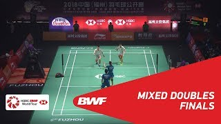 【Video】ZHENG Siwei・HUANG Yaqiong VS WANG Yilyu・HUANG Dongping, Fuzhou China Open 2018 finals