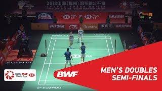 【Video】Marcus Fernaldi GIDEON・Kevin Sanjaya SUKAMULJO VS LIU Cheng・ZHANG Nan, Fuzhou China Open 2018 semifinal