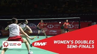 【Video】Mayu MATSUMOTO・Wakana NAGAHARA VS CHAE YuJung・KIM So Yeong, Fuzhou China Open 2018 semifinal
