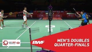 【Video】LIU Cheng・ZHANG Nan VS LIAO Min Chun・SU Ching Heng, Fuzhou China Open 2018 quarter finals