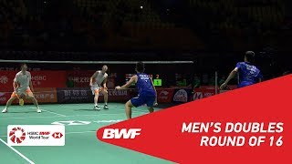 【Video】LIU Cheng・ZHANG Nan VS GOH V Shem・TAN Wee Kiong, Fuzhou China Open 2018 best 16
