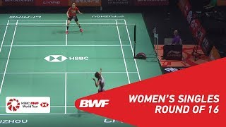 【Video】Nozomi OKUHARA VS SUNG Ji Hyun, Fuzhou China Open 2018 best 16