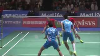 【Video】LI Junhui・LIU Yuchen VS Mohammad AHSAN・Hendra SETIAWAN, YONEX Open Japan semifinal