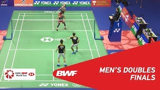 【Video】Marcus Fernaldi GIDEON・Kevin Sanjaya SUKAMULJO VS Takeshi KAMURA・Keigo SONODA, YONEX-SUNRISE Hong Kong Open 2018 finals