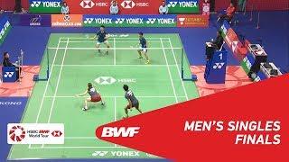 【Video】Yuta WATANABE・Arisa HIGASHINO VS WANG Yilyu・HUANG Dongping, YONEX-SUNRISE Hong Kong Open 2018 finals
