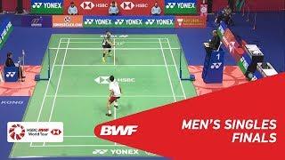 【Video】SON Wan Ho VS Kenta NISHIMOTO, YONEX-SUNRISE Hong Kong Open 2018 finals