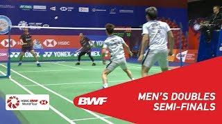 【Video】Marcus Fernaldi GIDEON・Kevin Sanjaya SUKAMULJO VS Mohammad AHSAN・Hendra SETIAWAN, YONEX-SUNRISE Hong Kong Open 2018 semif
