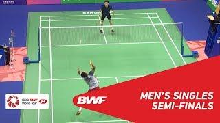 【Video】Kenta NISHIMOTO VS LEE Cheuk Yiu, YONEX-SUNRISE Hong Kong Open 2018 semifinal