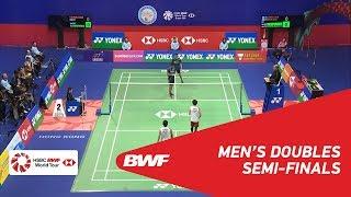 【Video】Takeshi KAMURA・Keigo SONODA VS Fajar ALFIAN・Muhammad Rian ARDIANTO, YONEX-SUNRISE Hong Kong Open 2018 semifinal