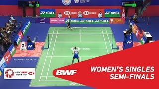 【Video】SUNG Ji Hyun VS Ratchanok INTANON, YONEX-SUNRISE Hong Kong Open 2018 semifinal