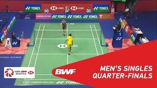 【Video】Kento MOMOTA VS Jonatan CHRISTIE, YONEX-SUNRISE Hong Kong Open 2018 quarter finals