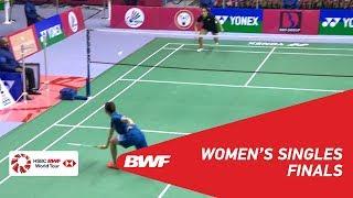 【Video】HAN Yue VS Saina NEHWAL, Syed Modi International Badminton Championships 2018 finals