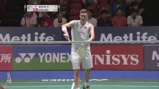 【Video】SON Wan Ho VS Viktor AXELSEN, YONEX Open Japan quarter finals