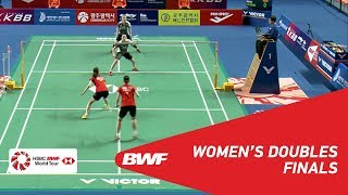 【Video】CHANG Ye Na・JUNG Kyung Eun VS LEE So Hee・SHIN Seung Chan, Korea Masters 2018 finals