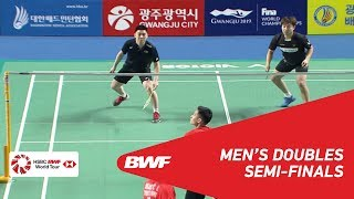 【Video】PO Li-Wei・WANG Chi-Lin VS KIM Sa Rang・Boon Heong TAN, Korea Masters 2018 semifinal