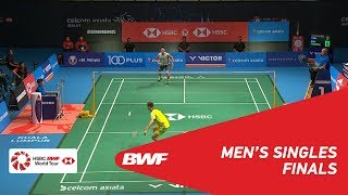 【Video】LEE Chong Wei VS Kento MOMOTA, CELCOM AXIATA Malaysia Open 2018 finals